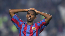 Eto'o: Barcelona have made me suffer with poor run of results