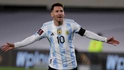 Video: Messi scores peculiar goal as Argentina comfortably beat Uruguay