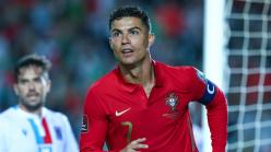 Ronaldo becomes the first men