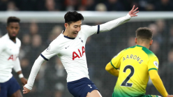 Tottenham 2-1 Norwich City: Son to the rescue as Mourinho