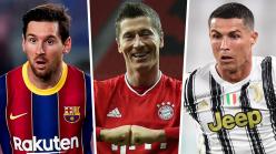 Golden Shoe 2020-21: Lewandowski, Ronaldo and Europe