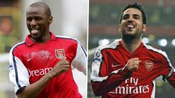Saliba proud to follow in footsteps of Vieira and Fabregas as he fills Arsenal's No.4 shirt