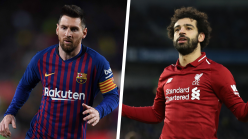 Salah closes in on Messi's imposing Champions League mark
