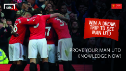 Prove your Man Utd knowledge and win the football weekend of your dreams in Manchester