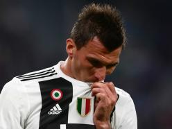 Juventus ace Mandzukic ruled out of Man Utd trip